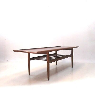 Grete Jalk Teak Coffee Table Danish Design Für Glostrup 50Er /60Er  Jahre