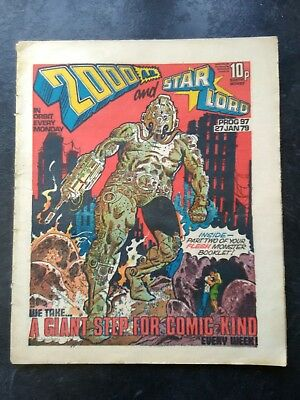 2000AD and Star Lord comic 1979