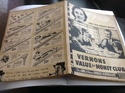 1930's Vernons  Mail Order .Catalogue,108 pages,art deco