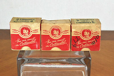 Lot of Three VTG Continental Screw Co Holtite Wood Screws & Boxes Collectable