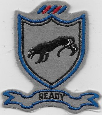 """Rare Original Wwii """"505Th Abn Inf Regt"""" Patch - Fully Embroidered On Wool"""