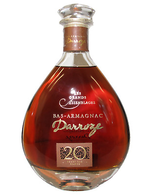 Francis Darroze S.A Armagnac GBA 20 Years CARAFE 43% 700mL bottle