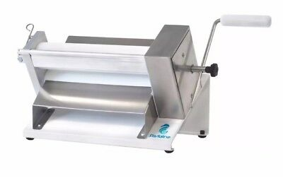 Pastaline Manual Cookie Pastry Fondant Marzipan Chocolate Dough Sheeter Roller