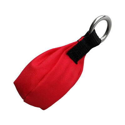 8.8/10.6/12.3/14oz Throw Weight Red Bag for Tree Surgery/Climbing/Working