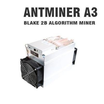 ANTMINER A3 815GH/s SIAcoin Blake(2b) ASIC MINER Bitminer IN-HAND READY TO SHIP