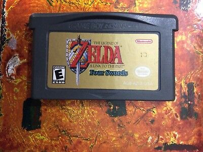 The Legend Of Zelda A Link To Past Four Swords Nintendo Gameboy ADVANCE GBA NM