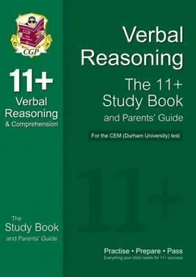 11+ Verbal Reasoning Study Book and Parents' Guide for the CEM ... 9781847621610