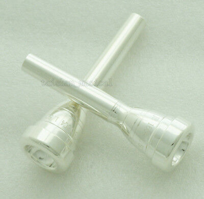 Silver Plated Trumpet Mouthpiece Size 1.5C 16C4