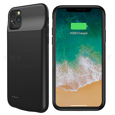 Ultra-Slim Battery Case Backup Power Bank Charger Cover For iPhone Xs XR 11 PRO