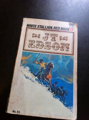 White Stallion, Red Mare by J.T. Edson Book The Cheap Fast Free Post
