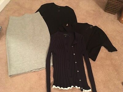 Lot of 4 ANN TAYLOR skirt and sweaters - XXSP/0P- NWOT - valued over $500