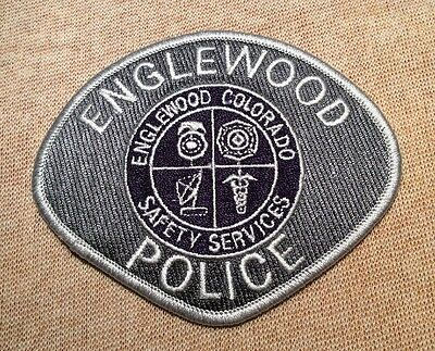CO Englewood Colorado Police Patch