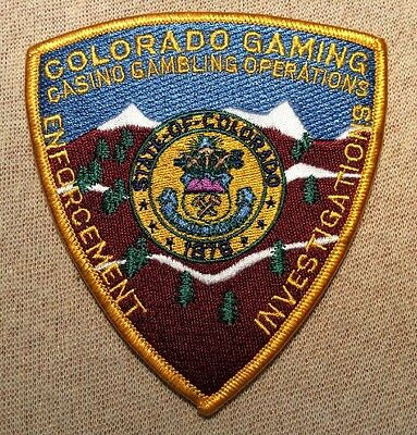 CO State of Colorado Gaming Enforcement Patch
