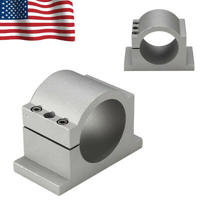 NEW 80mm Diameter Spindle Motor Mount Bracket Clamp For CNC Engraver Machine US