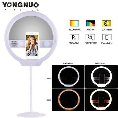 YONGNUO YN128II Selfie LED Ring Video Light for Smartphone iPhone HUAWEI K7F9