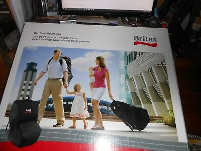 Britax Car Seat Travel Bag Padded Backpack Style Straps Built In Wheels