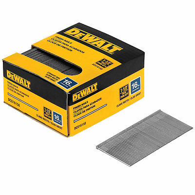 "DeWalt DCS16150 1-1/2"" 16 Gauge Heavy-Duty Straight Finish Nails"