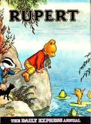 Rupert Annual 1969 No. 34 Daily Express Rupert Bear Rare Collectable Rupert Book
