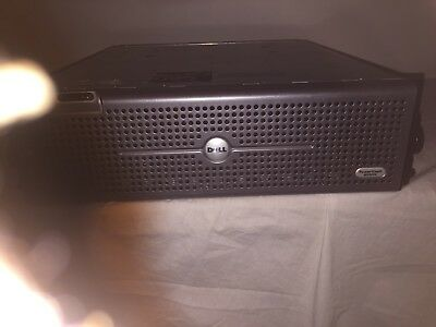 Dell Powervault 220S SAS Drive Storage Array, 2 x PSU 15 caddy's FREE SHIP!!