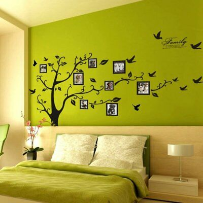 Big Family Tree Wall Sticker Vinyl Art Home Decals Room Decor Mural Branch