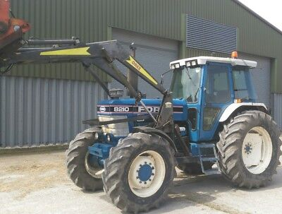 ford 8210 tractor