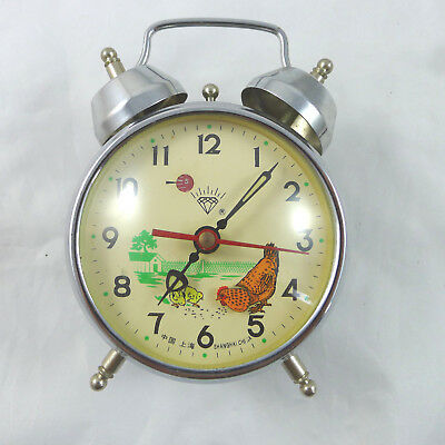 Sveglia alarm clock vintage gallina pulcino diamond china for Ebay vintage arredamento