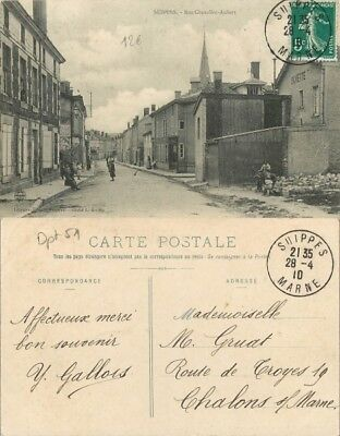 [503737] - France  - (51) Marne, Suippes, rue Chevallot-Aubert
