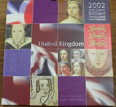 2002 United Kingdom Brilliant Uncirculated Collection