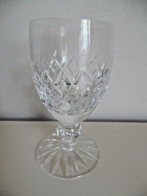 Waterford Crystal Boyne Pattern White Wine Glass 1St Quality Signed