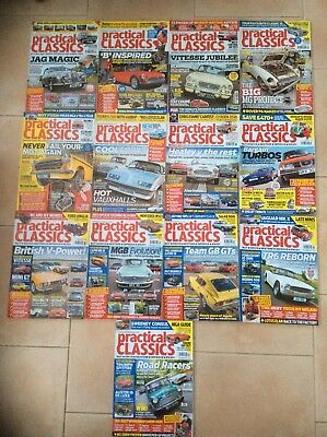 Practical Classics Magazine 2012/2013 Complete Years. 26 Magazines in total.