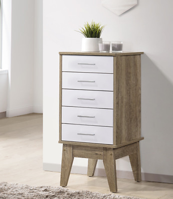 Slimboy 5 chest of drawers Oak-302712458856