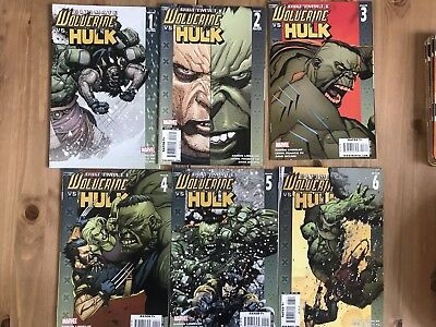 Ultimate Wolverine Vs Hulk 1,2,3,4,5,6 Complete