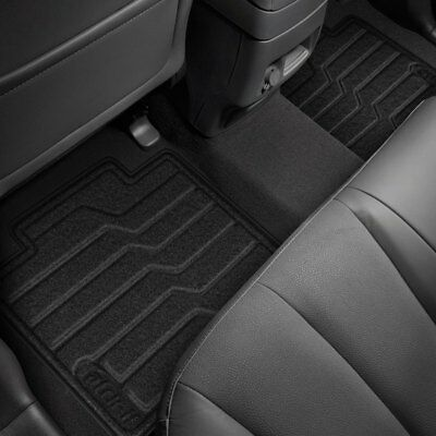 Coverking Custom Fit Front Floor Mats for Select Cadillac DeVille Models Nylon Carpet Black