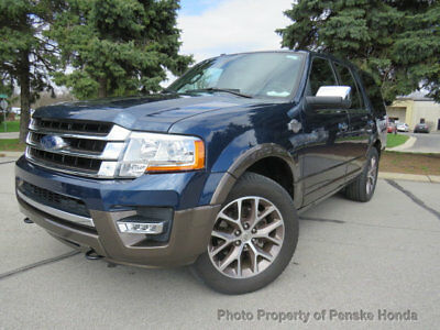 Ford Expedition 4WD 4dr King Ranch 4WD 4dr King Ranch SUV Automatic Gasoline V6 Cyl Engine Blue Jeans Metallic