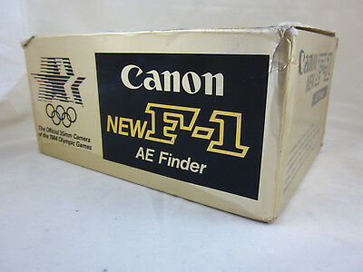 Canon new F-1 F1 Los Angeles Body/Gehäuse AE Finder Sucher OVP MINT  !!!