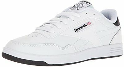 Reebok Club Memt Classic Athletic Shoes White White Black Mens Sizes CN2150