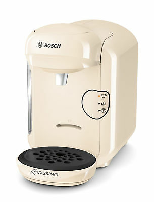 Tassimo By Bosch Vivy 2 Coffee Machine Coffee And Espresso Maker New Look-Cream.