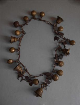 Antique Nepal TOP QUALITY HIGH AGED TRIBAL SHAMAN RITUAL AMULET NECKLACE
