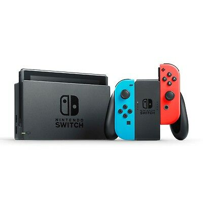 Brand New! Nintendo Switch Console Neon Red/Blue. - Quick Delivery
