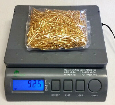 925 grams Military grade contact pins/connectors for use or scrap gold recovery