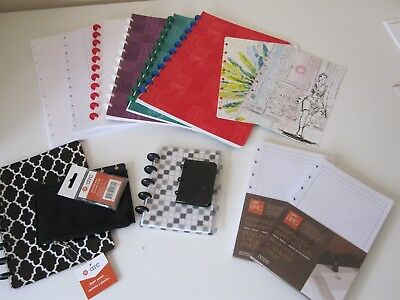 Mixed Lot of Staples Arc system notebooks accessories and paper