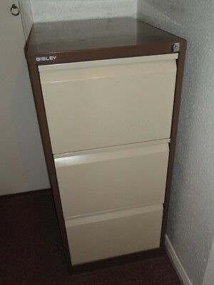 3 Drawer Bisley Filing Cabinet