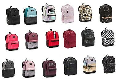 e66024ef3a Victoria s Secret PINK Campus Collegiate Backpack (Choose Your Color)