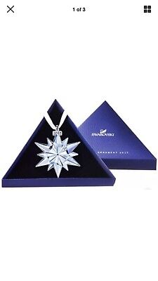 2017 Swarovski 52578 Annual Edition Christmas Ornament NEW