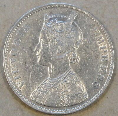 India 1878 Rupee as Pictured