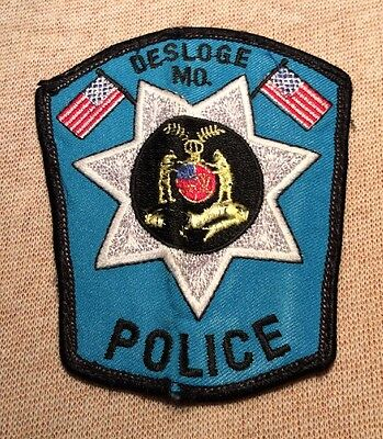 MO Desloge Missouri Police Patch (4In)