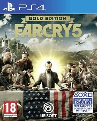 Far Cry 5: Gold Edition (PS4) VideoGames
