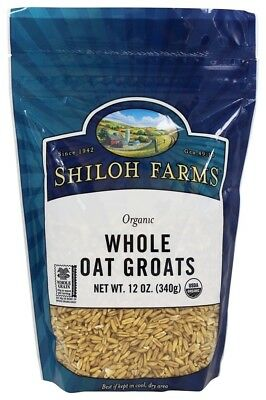 Shiloh Farms - Organic Whole Oat Groats - 12 oz  Buy Direct from  LuckyVitamin! Spread the Wellness!