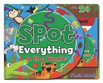 Spot Everything Book - Jungle: Spot Everything with Flash Cards by , Book The
