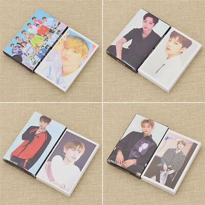 30x/Box WANNA ONE LOMO Cards Photocards Korean Kpop Star Fans Collections Gifts